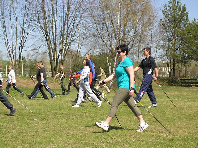 nauka Nordic Walking