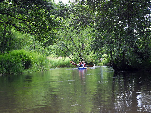 na rzekach Roztocza