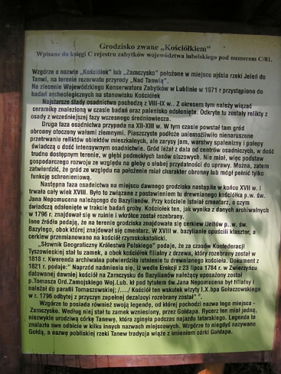 historia wzgórza Kościółek